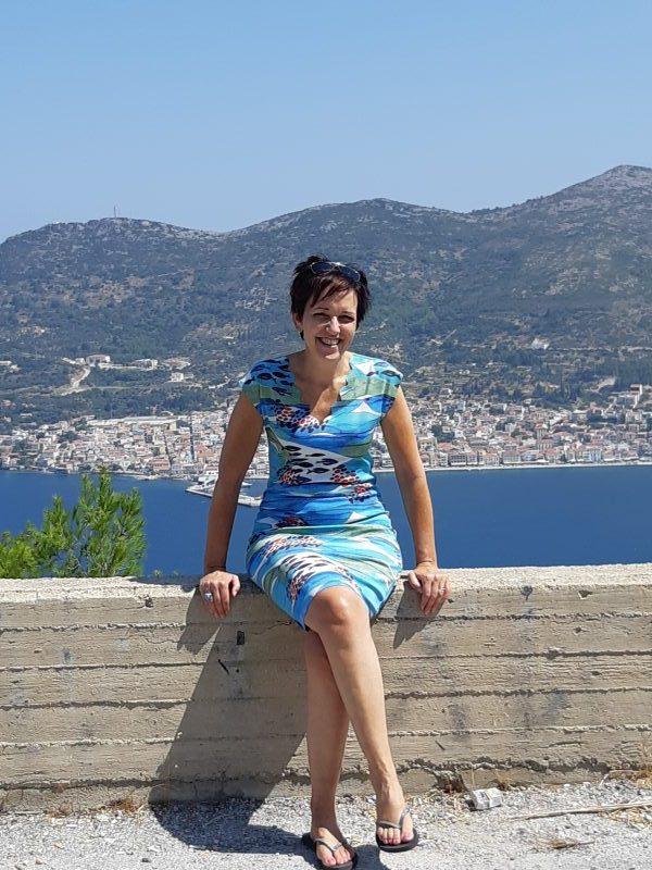 Samos vakantie - 2019 - ik ben Lenie van der Zande