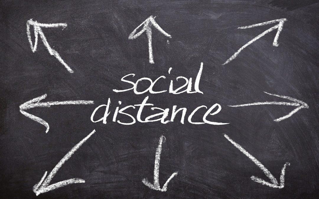 2020 maart social distance corona en communicatie online - commonplus